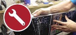 Mancini Store - Assistenza tecnica sci, snowboard, riparazioni attrezzatura sportiva.